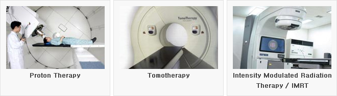 Proton Therapy, Tomotherapy, Intensity Modulated Radiation Therapy / IMRT